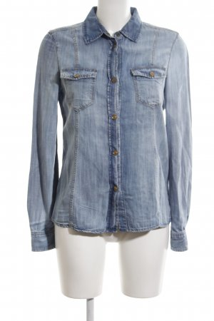 7 For All Mankind Denim Shirt blue casual look