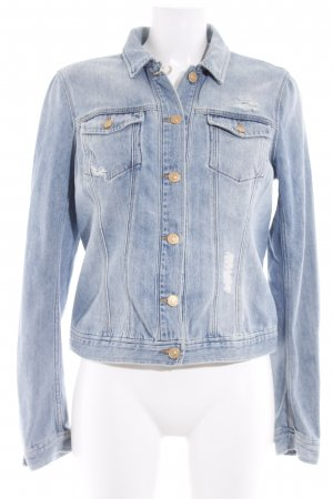 7 For All Mankind Jeansjacke himmelblau Casual-Look
