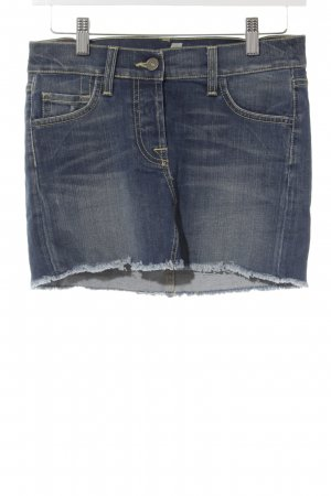 7 For All Mankind Jeansrock blau Beach-Look