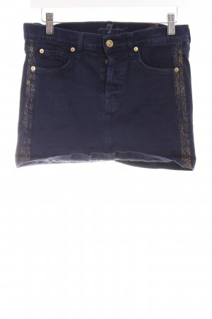 7 For All Mankind Gonna di jeans blu scuro stile casual