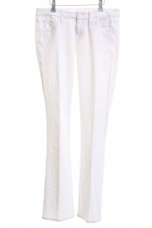 7 For All Mankind Denim Flares white business style