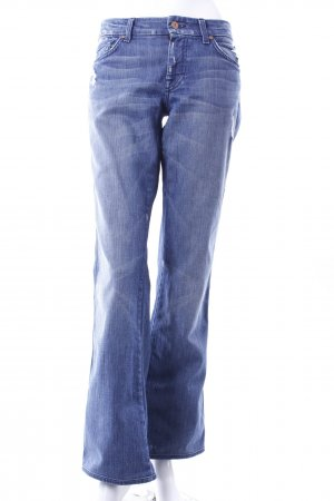 7 For All Mankind Jeansschlaghose blau