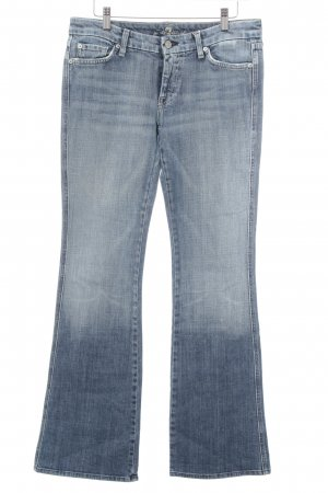 7 For All Mankind Jeans a zampa d'elefante blu stile casual