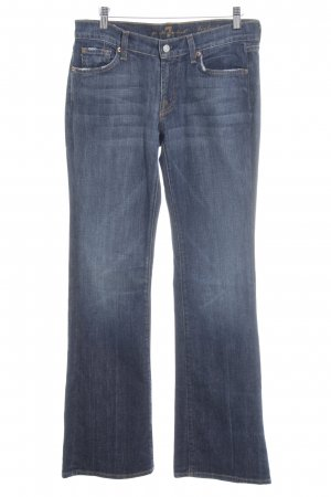 7 For All Mankind Denim Flares dark blue casual look