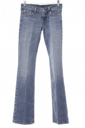 7 For All Mankind Vaquero acampanados azul claro look casual