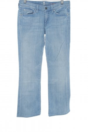 7 For All Mankind Jeans flare bleu clair style décontracté