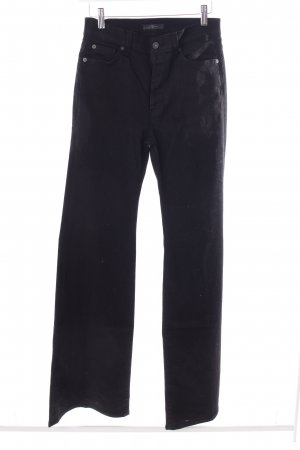 7 For All Mankind Jeansschlaghose schwarz
