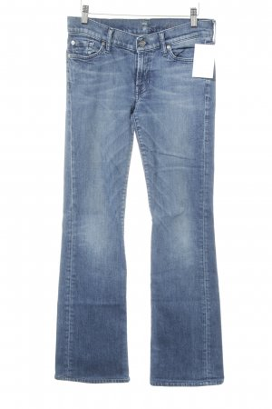 7 For All Mankind Denim Flares steel blue casual look