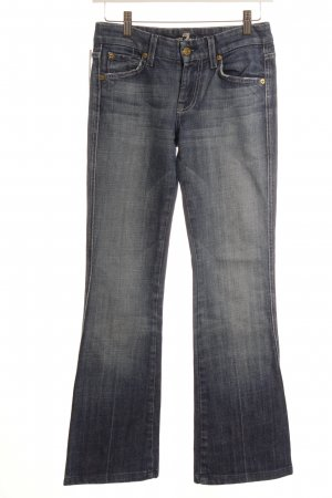 7 For All Mankind Vaquero acampanados azul acero look casual