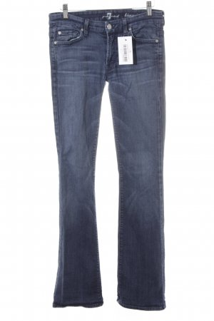 7 For All Mankind Denim Flares steel blue washed look