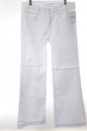 7 For All Mankind Vaquero acampanados blanco look casual