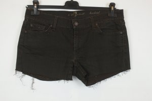 7 for all mankind Jeansshorts Shorts Hot Pants Gr. 31 / 40 braun