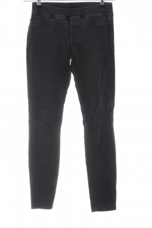 7 For All Mankind Jeggings schwarz Casual-Look
