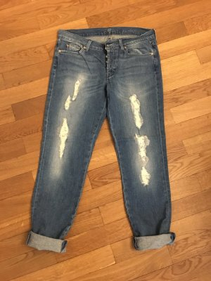 "7 For All Mankind ""Josefina"" (Skinny Boyfriend), Gr. 28, im Used-Look"