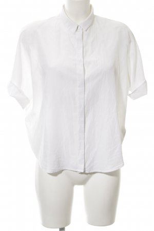 7 For All Mankind Camisa de manga corta blanco look «Brit»