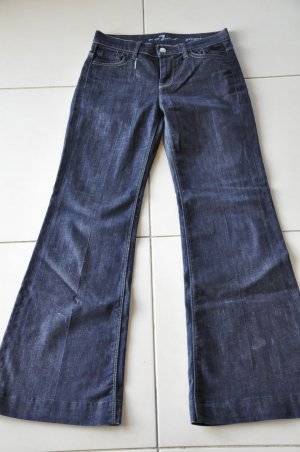 7 for all mankind model ginger tolle jeans schlaghose wie neu gr. 26, xs