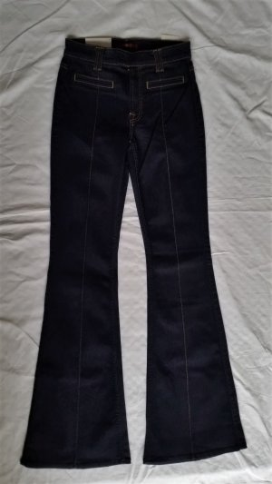 7 For All Mankind, Pintuck trouser, dunkelblau, 27, neu, € 300,-