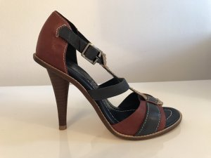 7 For All Mankind High Heel Sandal multicolored leather