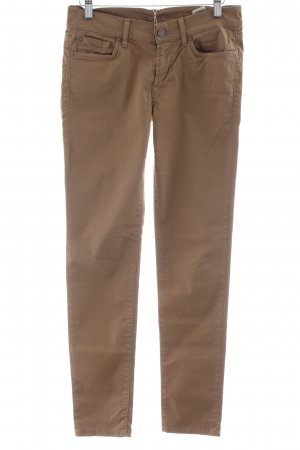 7 For All Mankind Röhrenhose beige Casual-Look