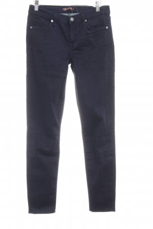 7 For All Mankind Regenpijpbroek donkerblauw casual uitstraling