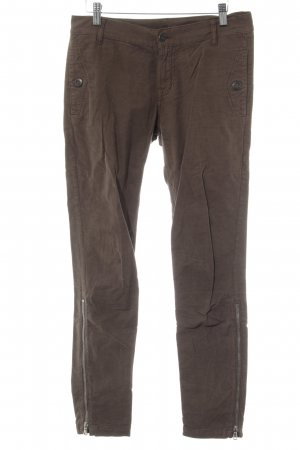 7 For All Mankind Röhrenhose graubraun Casual-Look