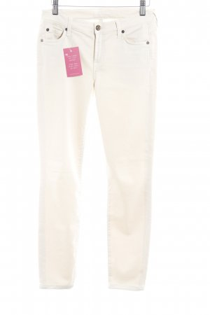 7 For All Mankind Röhrenhose hellbeige Elegant