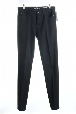 "7 For All Mankind Pantalon cigarette ""Roxanne"" noir"
