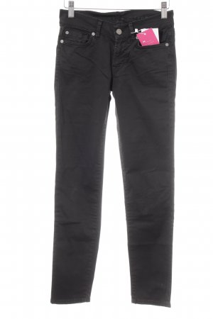"7 For All Mankind Röhrenhose ""Satin"" schwarz"