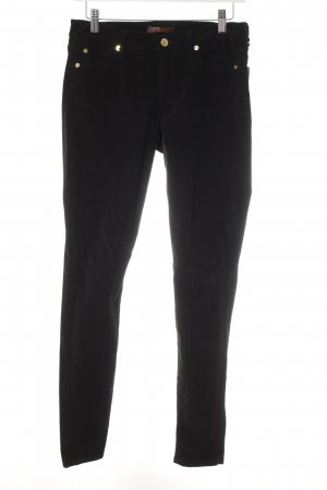 7 For All Mankind Röhrenhose schwarz Casual-Look