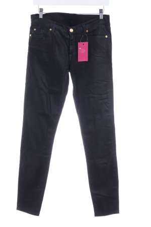 7 For All Mankind Röhrenhose schwarz Elegant