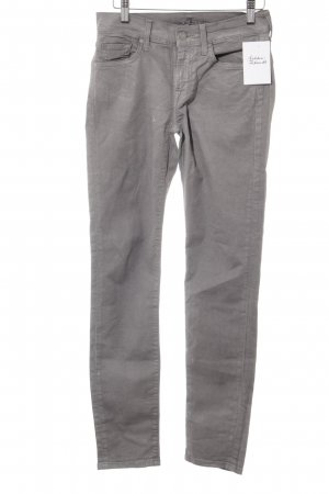 7 For All Mankind Tube Jeans grey casual look