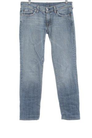 7 For All Mankind Jeans a sigaretta azzurro stile casual