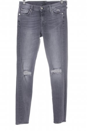 7 For All Mankind Röhrenjeans mehrfarbig Casual-Look