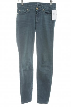 7 For All Mankind Tube Jeans petrol casual look