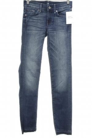 "7 For All Mankind Tube Jeans ""Roxanne"" blue"