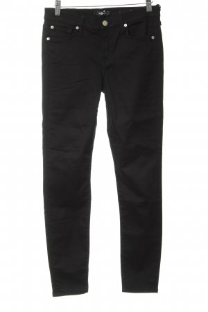 7 For All Mankind Vaquero pitillo negro look casual