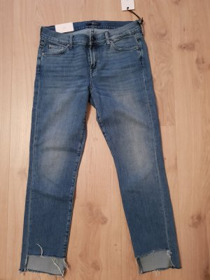 7 For All Mankind Slim jeans blauw