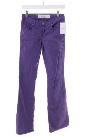 Seven Schlaghose blauviolett 60ies-Stil
