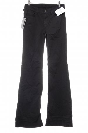 7 For All Mankind Pantalone a zampa d'elefante nero stile casual