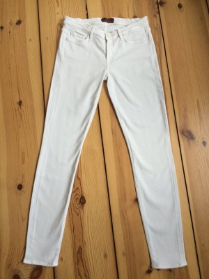 "7 FOR ALL MANKIND schmale Jeans mit ""silk touch"" - W28"