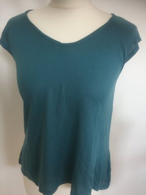 7 for all Mankind Shirt Trendfarbe Petrol Gr. L NEU