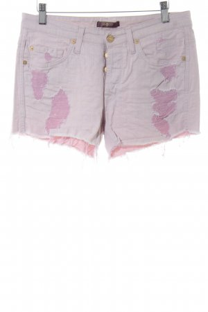7 For All Mankind Shorts rosa antico-rosa stile povero