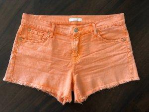 7 For All Mankind Pantaloncino di jeans arancione