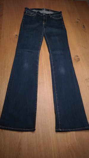 7 for all mankind - skinny bootcut jeans, Gr. 29