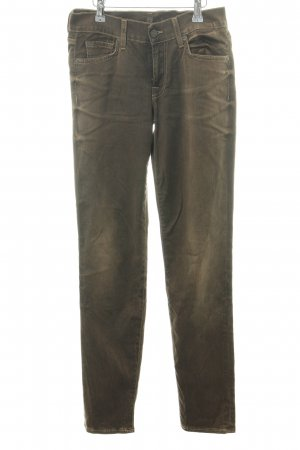7 For All Mankind Skinny Jeans braun Casual-Look