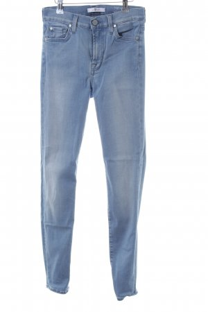 7 For All Mankind Jeans skinny bleu gradient de couleur style décontracté