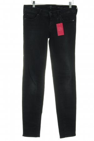 7 For All Mankind Skinny Jeans anthracite casual look