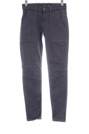 7 For All Mankind Vaquero skinny gris antracita look Street-Style