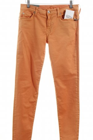 7 For All Mankind Skinny Jeans apricot Casual-Look