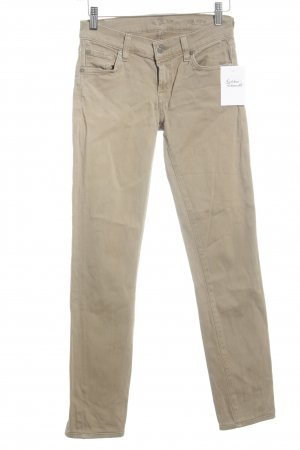 7 For All Mankind Skinny Jeans beige Casual-Look